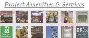 project amenities and services..