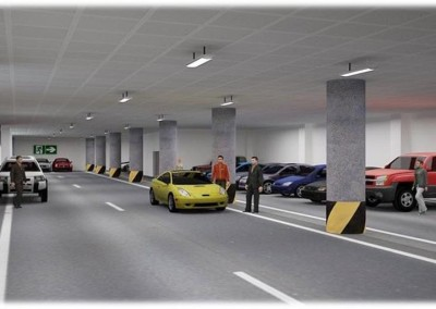 AMPLE CAR PARKING 3 LEVELS ROOFTOP