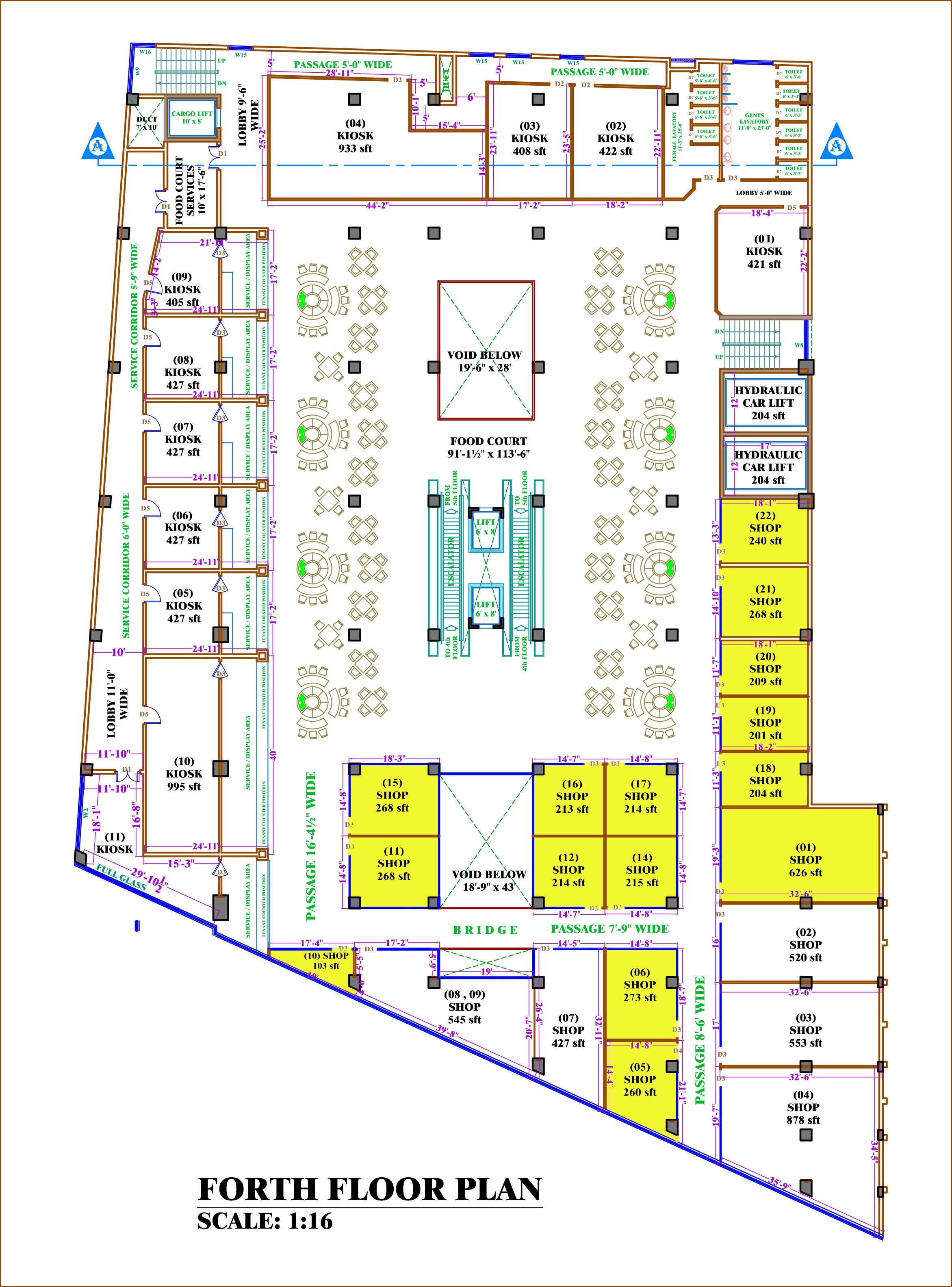 Floor Plans Mall Of Multan The Destination